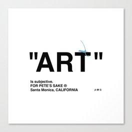 """""""ART"""" Canvas Print"""