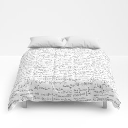 Math Equations Comforters