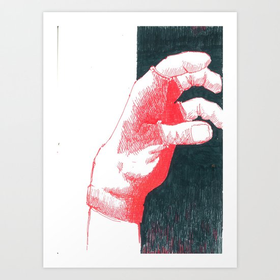 hand II Art Print