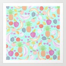 Fruit Punch Light Art Print