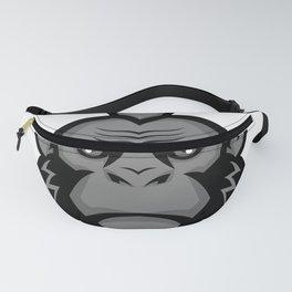 Chimpanzee Wearing Mohawk Mascot Fanny Pack