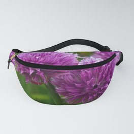 Chive Flowers Fanny Pack