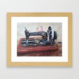 The machine V Framed Art Print