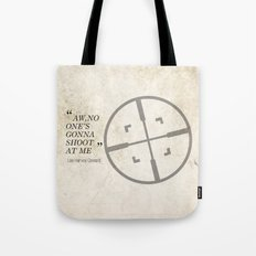 Famous Last words: Lee Harvey Oswald Tote Bag