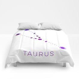 TAURUS STAR CONSTELLATION ZODIAC SIGN Comforters