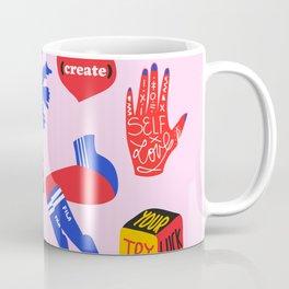 Favs Print Coffee Mug