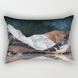 Landscape Mountains Rectangular Pillow