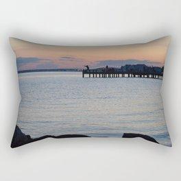 Seaside Fisherman Rectangular Pillow