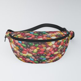Gourmet Jelly Beans Candy Photo Pattern Fanny Pack