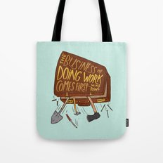 Mike Rowe Tote Bag