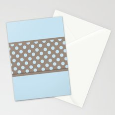 Polka Dots and Power Blue Stationery Cards