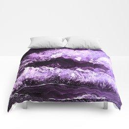 Amethyst Crystal Cave Comforters