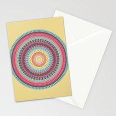 Mandala Shield Stationery Cards