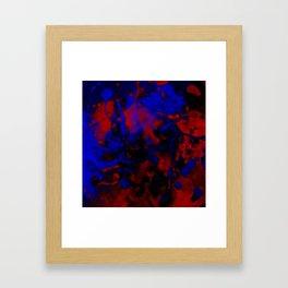 Yin Yang Heaven & Hell Framed Art Print