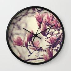 Magnolia II Wall Clock