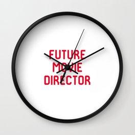 Future Movie Director Film School Student Wall Clock