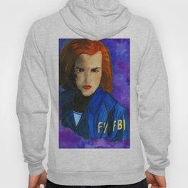 Dana Scully FBI Dark Blue Hoody