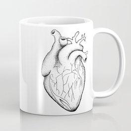 dotwork heart Coffee Mug
