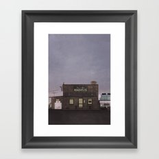 The Harvelle's Roadhouse Supernatural Framed Art Print