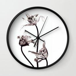 SKULL  X-RAY Wall Clock