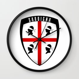 Sardegna - stemma Wall Clock
