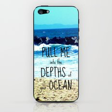 PULL ME INTO YOUR DEPTHS II  iPhone & iPod Skin