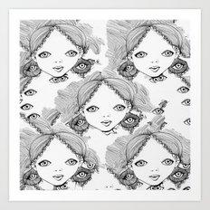 eyes Art Print