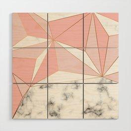 Marble & Geometry 042 Wood Wall Art