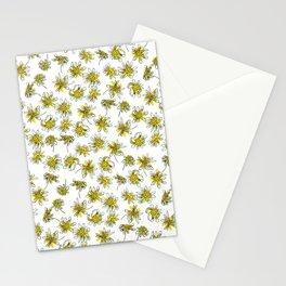 Manx Flora #3 - Scruffy Yellow Stationery Cards