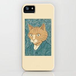 Cat Gogh iPhone Case