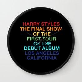 Harry Styles Final Show Wall Clock