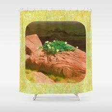 Datura Cavern Shower Curtain