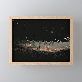 Live in Concert Band M & Sons Framed Mini Art Print