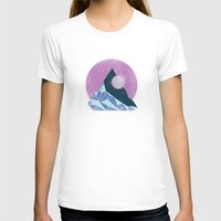 mountain T-shirts featuring Mountain by Chris Redford