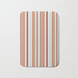 Combined Stripe Pattern - Clear Sailing Colorway Bath Mat