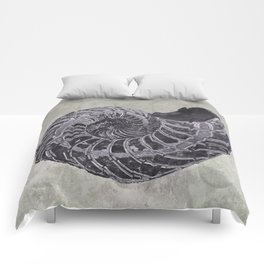 Ammonite study Comforters