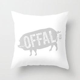 Offal Throw Pillow
