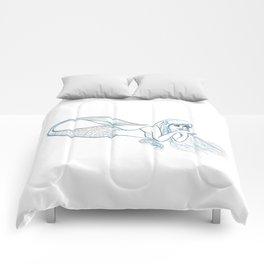 Mermaid Sketch Comforters