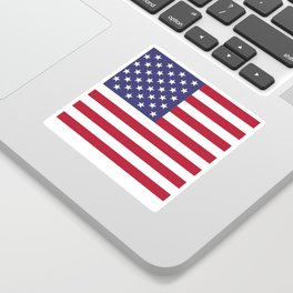National flag of the USA - Authentic G-spec scale & colors Sticker