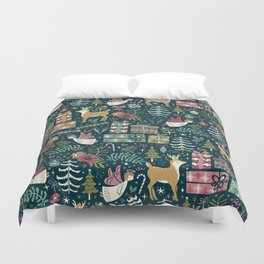 Christmas Joy Duvet Cover