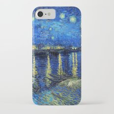 Starry Night Over the Rhone by Vincent van Gogh Slim Case iPhone 7