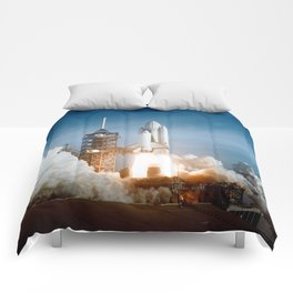 First Space Shuttle Launch Comforters