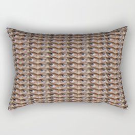 Steve Buscemi's Eyes Tiled Rectangular Pillow