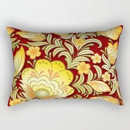 Art Flowers V2 Rectangular Pillow