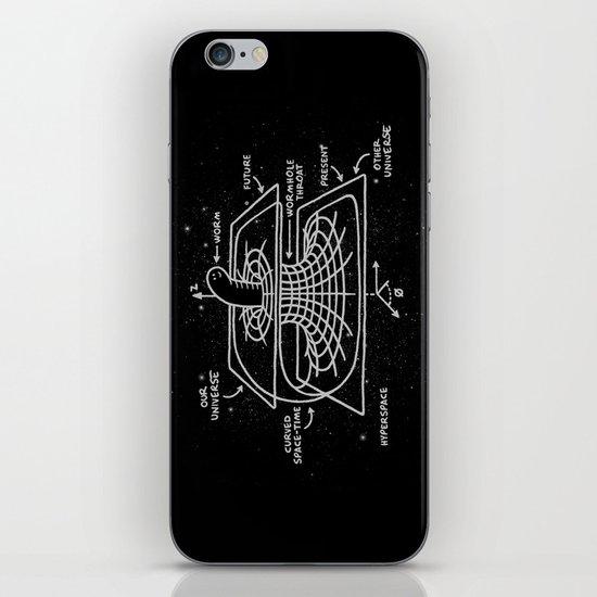 Cosmic Wormhole iPhone & iPod Skin