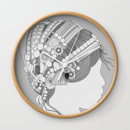A TRIBE CALLED WOMEN Wall Clock