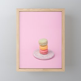 Macaroons Framed Mini Art Print