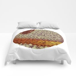 Brown coating Comforters
