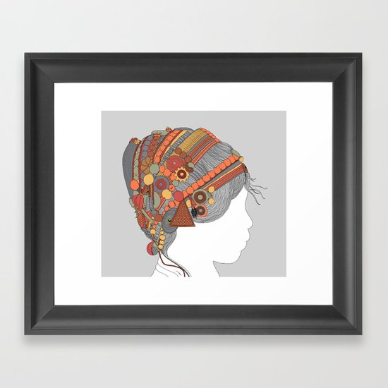 A TRIBE CALLED WOMEN - COLOR EDITION Framed Art Print
