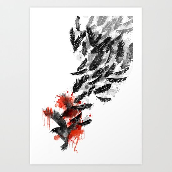 Another Long Fall Art Print